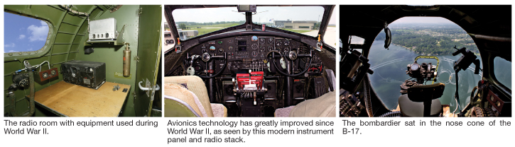 EAA's B-17 Shows Striking Contrast In Radio Technology