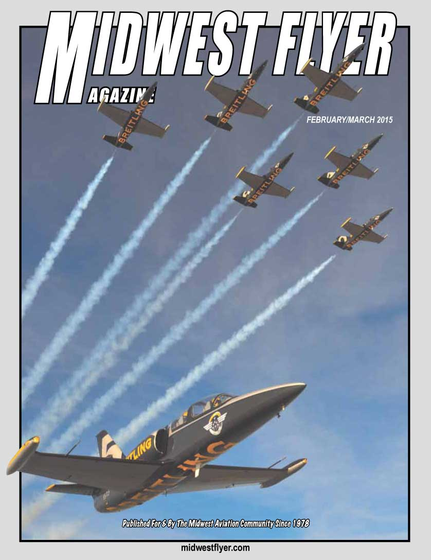 MIdwest Flyer Magazine Cover feat. Breitling Jet Team