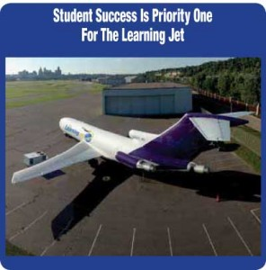 The Learning Jet Aims for Student Success